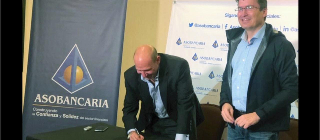 CCIT y Asobancaria firman memorando de colaboración para mitigar riesgos asociados al uso de nuevas tecnologías